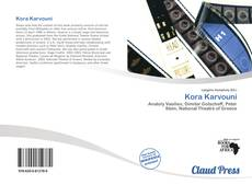 Bookcover of Kora Karvouni