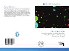 Bookcover of Tarlan Khalilov