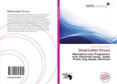 Bookcover of Dead Letter Circus