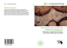 Обложка Matthieu Delpierre
