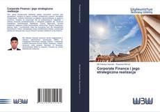 Portada del libro de Corporate Finance i jego strategiczna realizacja