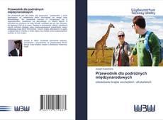Portada del libro de Przewodnik dla podróżnych międzynarodowych