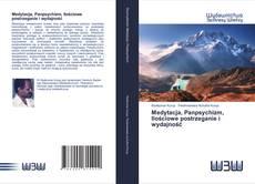 Buchcover von Medytacja, Panpsychizm, Ilościowe postrzeganie i wydajność