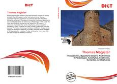 Couverture de Thomas Magister
