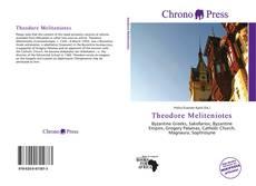 Buchcover von Theodore Meliteniotes