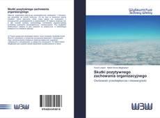 Bookcover of Skutki pozytywnego zachowania organizacyjnego