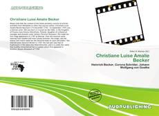Couverture de Christiane Luise Amalie Becker