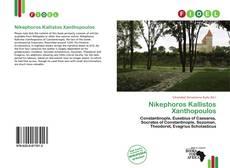 Bookcover of Nikephoros Kallistos Xanthopoulos