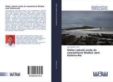 Portada del libro de Gleba i jakość wody do nawadniania Wzdłuż rzeki Katsina-Ala