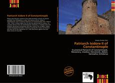 Bookcover of Patriarch Isidore II of Constantinople
