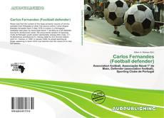 Capa do livro de Carlos Fernandes (Football defender)