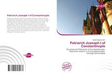 Capa do livro de Patriarch Joasaph I of Constantinople