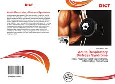 Bookcover of Acute Respiratory Distress Syndrome