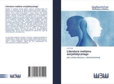 Capa do livro de Literatura realizmu socjalistycznego