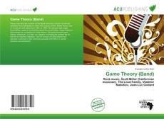 Bookcover of Game Theory (Band)