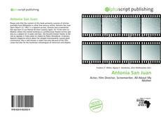 Couverture de Antonia San Juan