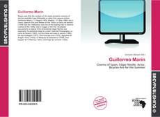 Bookcover of Guillermo Marín