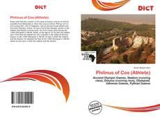 Philinus of Cos (Athlete) kitap kapağı