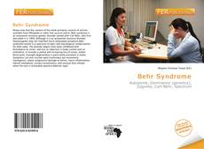 Bookcover of Behr Syndrome