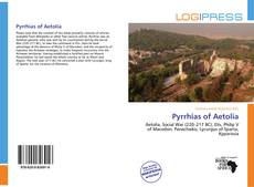 Couverture de Pyrrhias of Aetolia