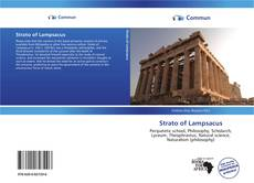Bookcover of Strato of Lampsacus