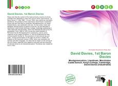 Bookcover of David Davies, 1st Baron Davies