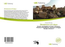 Bookcover of Stratonice of Libya