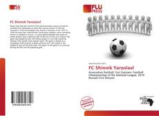 FC Shinnik Yaroslavl kitap kapağı