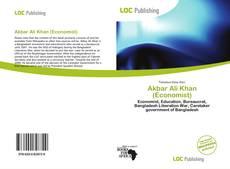 Bookcover of Akbar Ali Khan (Economist)