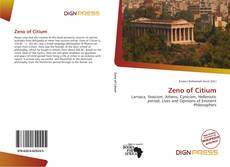 Bookcover of Zeno of Citium
