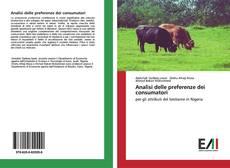 Bookcover of Analisi delle preferenze dei consumatori
