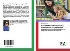 Copertina di Conoscenza lessicale inglese, insegnanti di pre-assistenza