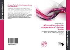 Capa do livro de African Party for the Independence of Cape Verde