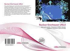 Bookcover of Nuclear Overhauser effect