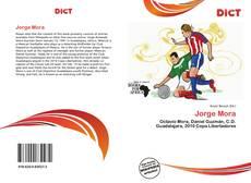 Capa do livro de Jorge Mora