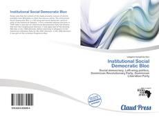 Buchcover von Institutional Social Democratic Bloc