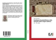 Portada del libro de Tradizioni Humboldtiane nella filosofia della lingua tedesca