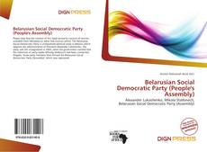 Portada del libro de Belarusian Social Democratic Party (People's Assembly)