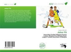 Capa do livro de Johor FA