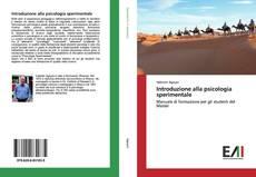 Capa do livro de Introduzione alla psicologia sperimentale