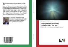 Preparazione alla ricerca accademica e alle tesi kitap kapağı