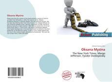 Bookcover of Oksana Mysina