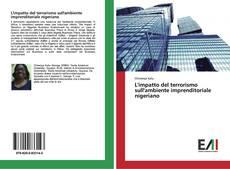 Capa do livro de L'impatto del terrorismo sull'ambiente imprenditoriale nigeriano