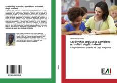 Capa do livro de Leadership scolastica zambiana e risultati degli studenti