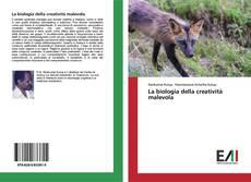 Capa do livro de La biologia della creatività malevola