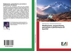 Capa do livro de Meditazione, panpsichismo, percezione e performance di quantal