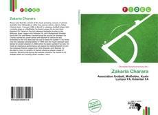 Zakaria Charara kitap kapağı