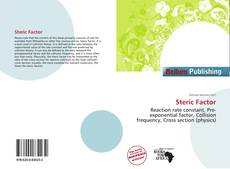 Bookcover of Steric Factor