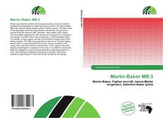 Bookcover of Martin-Baker MB 3