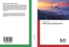 Capa do livro de Diritto aereo internazionale